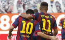 Pesan kerinduan Messi kepada Neymar