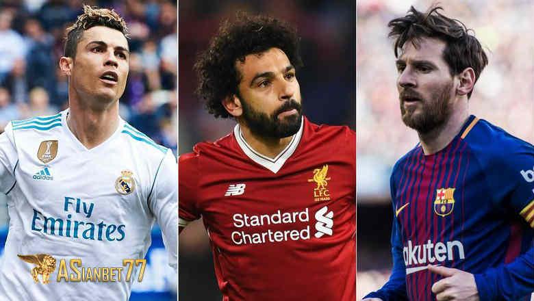 Mohamed Salah Sekelas Messi dan Ronaldo - Sabung Ayam Online