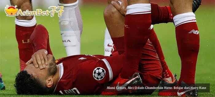 Alami Cedera, Alex Oxlade-Chamberlain Harus Belajar dari Harry Kane Agen Bola Piala Dunia 2018