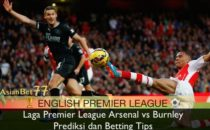 Laga Premier League Arsenal vs Burnley