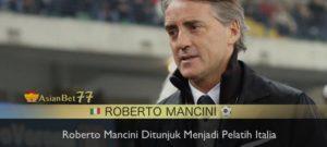 roberto mancini ditunjuk menjadi pelatih italia Agen Bola Piala Dunia 2018