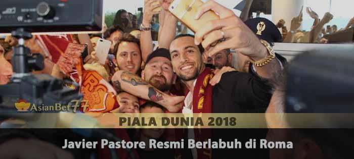Javier Pastore Resmi Berlabuh di Roma Agen Bola Piala Dunia 2018
