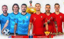 Prediksi Piala Dunia Uruguay vs Portugal - Agen Bola Piala Dunia 2018