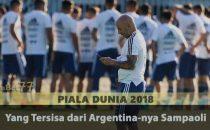 Yang Tersisa dari Argentina-nya Sampaoli Agen Bola Piala Dunia 2018