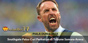 Southgate Palsu Berkeliaran di Tribune Samara Arena - Agen Bola Piala Dunia 2018
