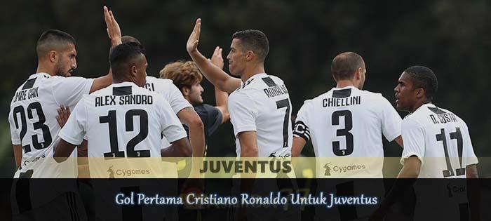 Gol Pertama Cristiano Ronaldo Untuk Juventus Agen bola online