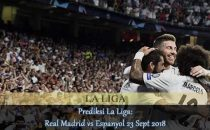 Prediksi La Liga Real Madrid vs Espanyol 23 Sept 2018 Agen bola online