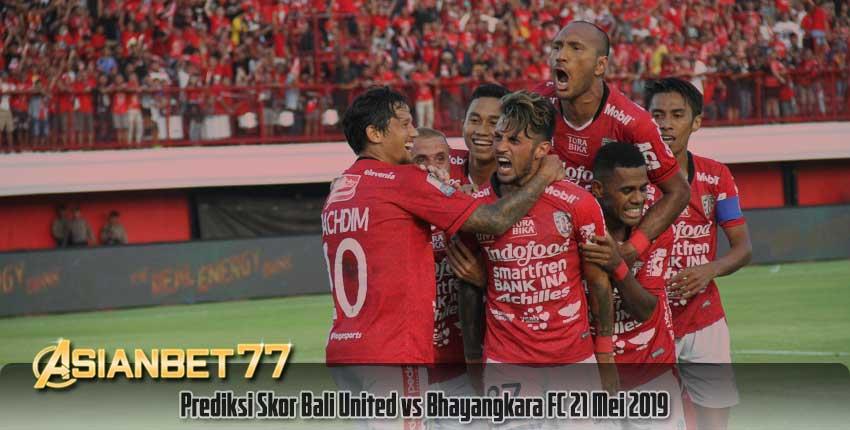 Prediksi Skor Bali United vs Bhayangkara FC 21 Mei 2019