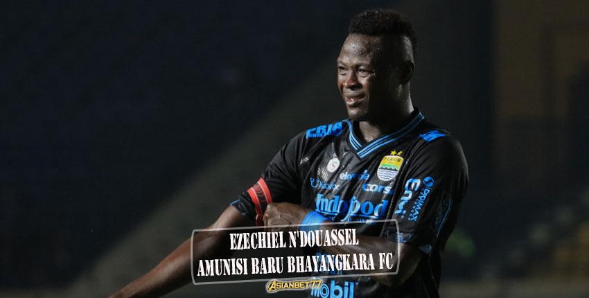 Ezechiel N'Douassel, Amunisi Baru Bhayangkara FC