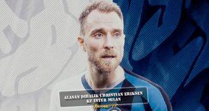 Alasan Dibalik Christian Eriksen Ke Inter Milan