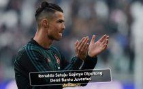 Ronaldo Setuju Gajinya Dipotong Demi Bantu Juventus