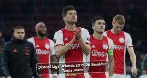 Distop! Liga Belanda 2019-20 Berakhir Tanpa Juara