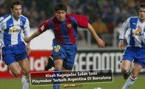 Kisah Kegagalan Salah Satu Playmaker Terbaik Argentina Di Barcelona