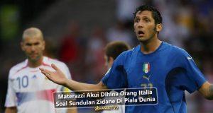 Materazzi Akui Dihina Orang Italia Soal Sundulan Zidane Di Piala Dunia