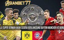 Di ajang bergengsi DFL Supercup Bayern Munchen akan melawan Borussia Dortmund yang berlangsung di Allianz Arena bertajuk Der Klassiker.