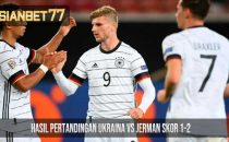 Hasil Pertandingan Ukraina vs Jerman Skor 1-2