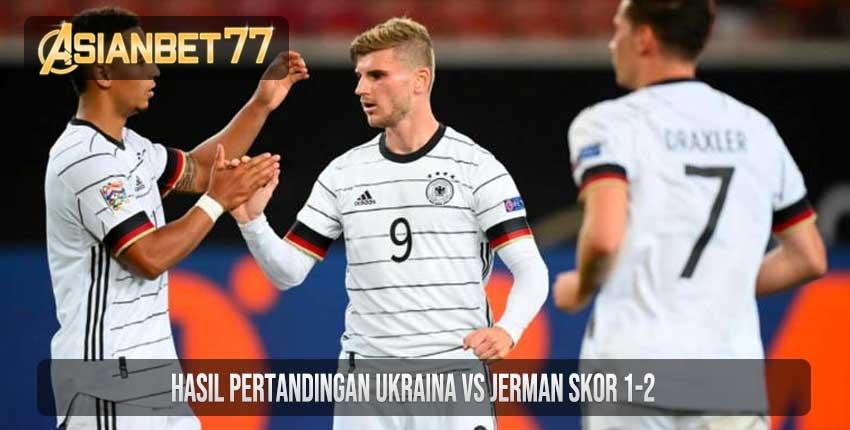 Hasil Pertandingan Ukraina vs Jerman Skor 1-2