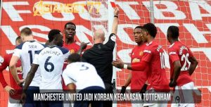 Manchester United Jadi Korban Keganasan Tottenham