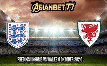 Prediksi Inggris vs Wales 9 Oktober 2020