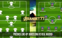 Prediksi Line-Up Barcelona vs Real Madrid
