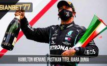 Hamilton Menang, Pastikan Titel Juara Dunia