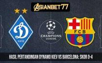 Hasil Pertandingan Dynamo Kiev vs Barcelona: Skor 0-4