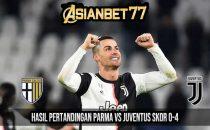 Hasil Pertandingan Parma vs Juventus Skor 0-4