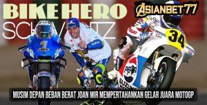 Musim Depan Beban Berat Joan Mir Mempertahankan Gelar Juara MotoGP