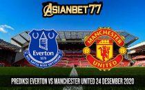 Prediksi Everton vs Manchester United 24 Desember 2020