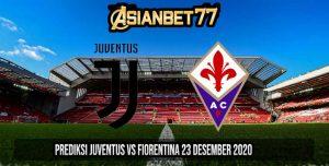 Prediksi Juventus vs Fiorentina 23 Desember 2020