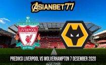 Prediksi Liverpool vs Wolverhampton 7 Desember 2020