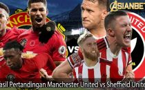 Hasil Pertandingan Manchester United vs Sheffield United