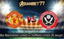 Prediksi Manchester United vs Sheffield United 28 Januari 2021