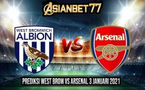 Prediksi West Brom vs Arsenal 3 Januari 2021